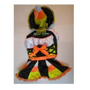 High Quality DOG Costume - CANDY CORN WITCH DOG COSTUMES - Dress Your Dogs Sweet