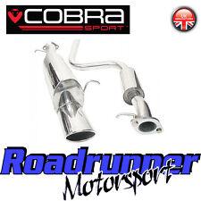 "FD33 Cobra Sport FIESTA MK6 Zetec 1.4i dispositivo SILENZIATORE 2"" CAT BACK-EDIF"