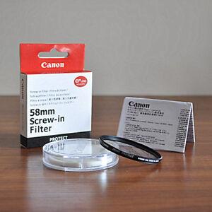 Canon 58mm UV Filter
