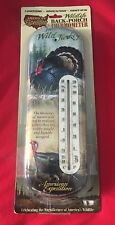 American Expedition Wildlife Three-Dimensional Tin Back-Porch Thermometer New