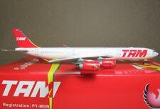 Phoenix 1/400 TAM A340-500 PT-MSN #10632 Diecast Metal Plane
