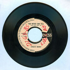 Imported CHUCK BERRY You Never Can Tell 45 rpm PROMO Record