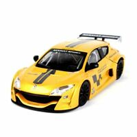 Burago 1/24 Megane Trophy Diecast Car Model Yellow