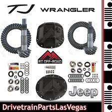 Jeep TJ Dana 35 30 Ring & Pinion Re-Gear OffRoad HD Covers Master Kits 4.56 NEW