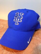 NIKE DRI FIT NEW YORK NY METS MLB BASEBALL BLUE MEN'S MEN GOLF SUN HAT CAP NEW