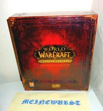 WOW arrabbiato of Pandaria-COLLECTOR 'S EDITION VUOTO EMPTY BOX World of Warcraft