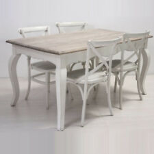 Tavolo In Legno E Sedie.Set Di Tavoli E Sedie In Legno Massello Acquisti Online Su Ebay