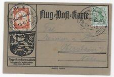 Schwaben Zeppelin LZ10 1912 Airmail -Charity Airmail Week (German Post Office)