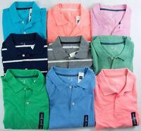 NWT Mens Pique Polo Shirt GAP Choose Size/Color/Material XS S M L XL XXL
