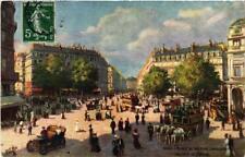 CPA PARIS (9e) Place du Theatre Francais Avenue de l'Opera (563926)
