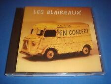 CD / LES BLAIREAUX / EN CONCERT / 1er ALBUM 1998 / RARE lille 59 nord NM