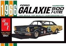 1966 Ford Galaxie 500 HARDTOP 1:25 scale AMT détaillée en plastique Kit Voiture