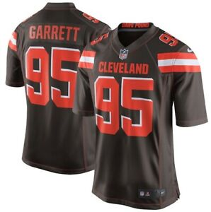 NIKE CLEVELAND BROWNS MYLES GARRETT ON FIELD FOOTBALL JERSEY AUTHENTIC YOUTH L