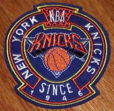 NEW New York NY Knicks Crest Sleeve or Polo Sized Embroidered Patch *P5