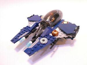 LEGO STAR WARS OBI-WAN KENOBI'S BLUE JEDI STARFIGHTER FROM 7661 - 100% COMPLETE