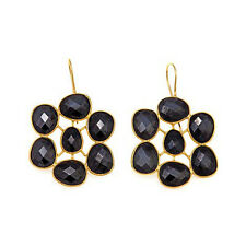 Rarities Carol Brodie Black Spinel Sterling Silver Drop Earrings HSN $139