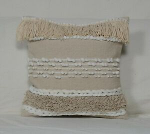 Hand loom Decorative Pillow Rustic Handwoven woolen Kilim Vintage Cushion 7014