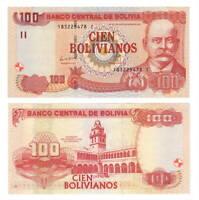 BOLIVIA UNC 100 Bolivianos Banknote Series I (1986/2011) P-241 Paper Money