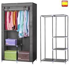 Armoire En Tissu Penderie Etagère Protection Vêtements Closet 160x88x45cm Offre