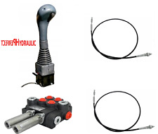 Handsteuerventil Handhebelventil Hydraulik 40L 7-fach 7xDW 2xKreuzhebel 2x JOY