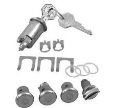 1962 1963 1964 1965 Chevy Nova Chevy II Trunk Lock Set Pearl Head Keys