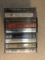 Large Collection Of MIXED CASSETTE TAPES Bundle Greatest Best Of Favourites Mix