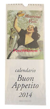 ITALIAN 2014 MAMA MIA Food/Cheese/Wine/Sweets/Pasta ETC Gift Fine New CALENDAR