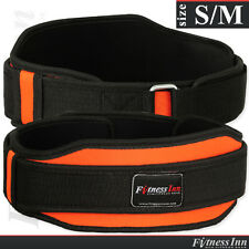 Weight Lifting Belt Gym Fitness Neoprene Back Support Exercise Belt Size - S/M