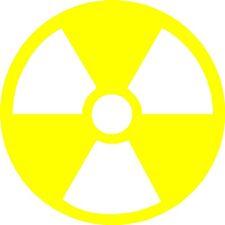 "Atomic Symbol Car Graphics, Decals, Stickers (4"" x 4"")"