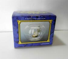 """Gianni 6"""" Double Votive Candle Globe - Candleholder Bowl - Clear Glass"""