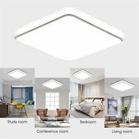 12W 24W Square LED Ceiling Down Light Panel Wall Mount Kitchen Bedroom Lamp