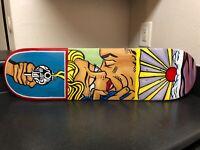 "Treasure Painting JR Bissell ""Looting On"" Pirate Roy Lichtenstein Skateboard"
