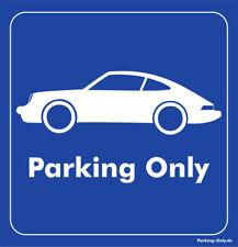 Parking Only - Porsche 911 - Aufkleber
