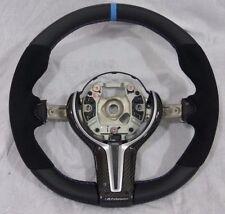 BMW OEM F87 M2 F80 M3 F82 F83 M4 M Performance Alcantara & Carbon Steering Wheel