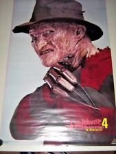 Nightmare Elm St.4 -Orig. Vintage Poster #3211 (Dream Master) / Exc. new cond.