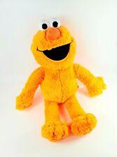"JUMBO 30"" Sesame Street Neon Orange Elmo Plush Stuffed Animal Muppets Colorful"