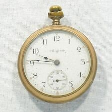 Elgin 18s Size Open Face 7 Jewel 1905 Pocket Watch NONRUNNER Needs Work