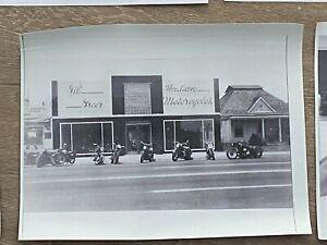 INDIAN Motorcycle DEALER Memorabilia--GIL GREER's dealership