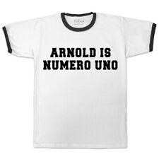 Para Hombre Arnold is numero uno Timbre Estilo Película camiseta de estilo vintage y retro Gimnasio Mma Ufc