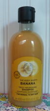 THE BODY SHOP BANANA TRULY NOURISHING SHAMPOO 13.5 OZ NORMAL TO DRY HAIR