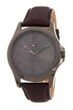 Tommy Hilfiger Men's The Essentials Leather Strap Watch 45mm 1791522