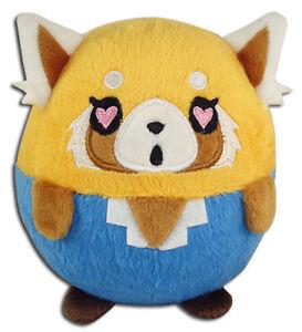 **Legit** Aggretsuko Authentic Anime Ball Plush Love Heart Eyes Retsuko #56501