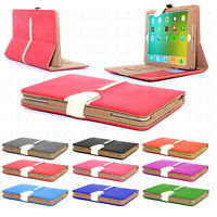 Genuine Gorilla Tech Suede Leather Flip Wallet Book Case Cover For iPad 4 3 2