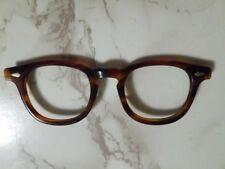 Vintage Tortoise Tart Arnel 46/22 Front  Eyeglasses Glasses - Johnny Depp etc...