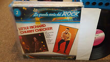 Little Richard/Chubby Checker LP La Grande Storia del Rock Italian Import