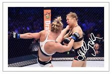 HOLLY HOLM UFC MMA SIGNED PHOTO PRINT AUTOGRAPH