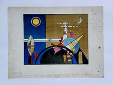 Wassily Kandinsky•The Big Tower of Kiev•Great Gate of Kiev•Bauhaus•18x16 Print