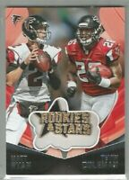 Tevin Coleman Atlanta Falcons Indiana 2015 Rookies & Stars EMBROIDERED PATCHES