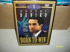 BORN TO WIN DVD STARRING ROBERT DENIRO DVD BRAND NEW AND SEALED