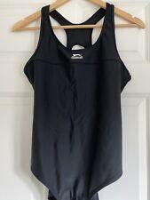New listing Ladies Slazenger Basic Swimsuit Swimming Costume Bathing Suit Large Black